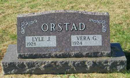 ORSTAD, LYLE J - Lincoln County, South Dakota | LYLE J ORSTAD - South Dakota Gravestone Photos