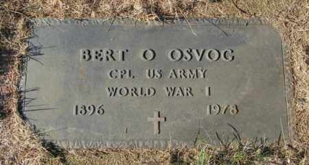 OSVOG, BERT O - Lincoln County, South Dakota | BERT O OSVOG - South Dakota Gravestone Photos