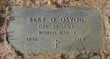 OSVOG, BERT O - Lincoln County, South Dakota   BERT O OSVOG - South Dakota Gravestone Photos