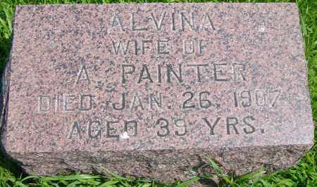 PAINTER, ALVINA - Lincoln County, South Dakota | ALVINA PAINTER - South Dakota Gravestone Photos