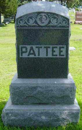 PATTEE FAMILY MEMORIAL, JAMES R - Lincoln County, South Dakota | JAMES R PATTEE FAMILY MEMORIAL - South Dakota Gravestone Photos
