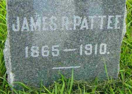 PATTEE, JAMES R - Lincoln County, South Dakota | JAMES R PATTEE - South Dakota Gravestone Photos