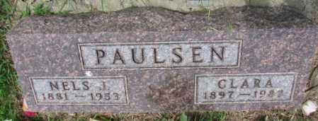 PAULSEN, NELS J. - Lincoln County, South Dakota | NELS J. PAULSEN - South Dakota Gravestone Photos