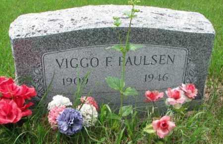 PAULSEN, VIGGO F. - Lincoln County, South Dakota | VIGGO F. PAULSEN - South Dakota Gravestone Photos
