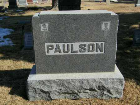 PAULSON PLOT, NOBLE - Lincoln County, South Dakota | NOBLE PAULSON PLOT - South Dakota Gravestone Photos