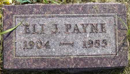 PAYNE, ELI J - Lincoln County, South Dakota   ELI J PAYNE - South Dakota Gravestone Photos