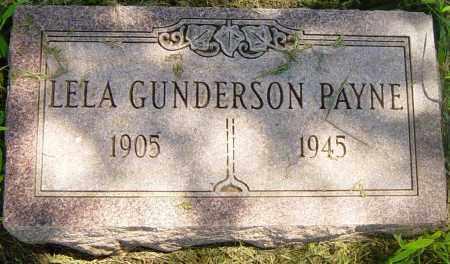 GUNDERSON PAYNE, LELA - Lincoln County, South Dakota | LELA GUNDERSON PAYNE - South Dakota Gravestone Photos