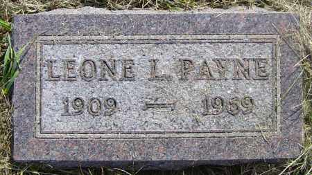 PAYNE, LEONE L - Lincoln County, South Dakota | LEONE L PAYNE - South Dakota Gravestone Photos