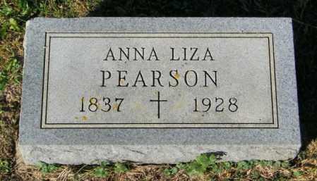 PEARSON, ANNA LIZA - Lincoln County, South Dakota | ANNA LIZA PEARSON - South Dakota Gravestone Photos