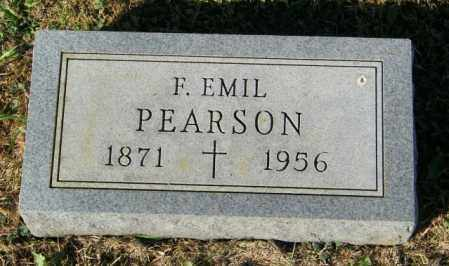 PEARSON, F. EMIL - Lincoln County, South Dakota | F. EMIL PEARSON - South Dakota Gravestone Photos
