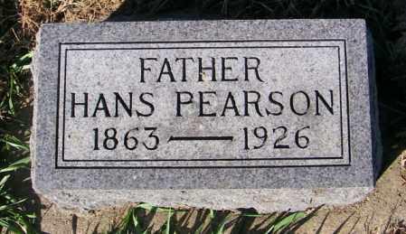 PEARSON, HANS - Lincoln County, South Dakota | HANS PEARSON - South Dakota Gravestone Photos