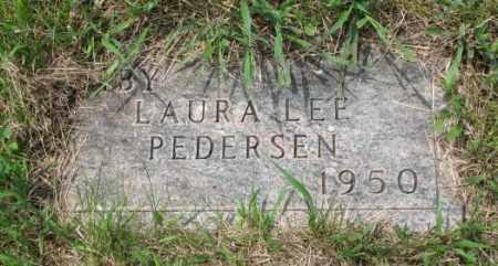 PEDERSEN, LAURA LEE - Lincoln County, South Dakota   LAURA LEE PEDERSEN - South Dakota Gravestone Photos