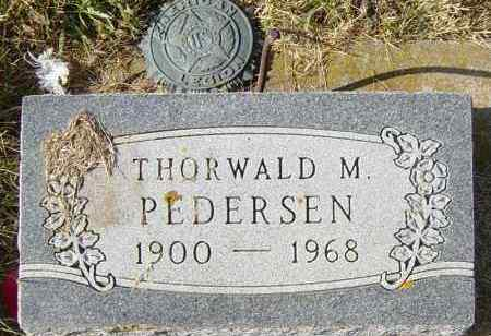 PEDERSEN, THORWALD M - Lincoln County, South Dakota | THORWALD M PEDERSEN - South Dakota Gravestone Photos