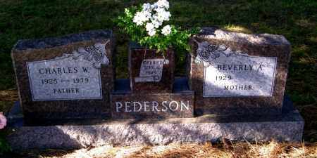 PEDERSON, CHARLES W. - Lincoln County, South Dakota | CHARLES W. PEDERSON - South Dakota Gravestone Photos