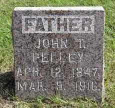 PELLEY, JOHN T. - Lincoln County, South Dakota | JOHN T. PELLEY - South Dakota Gravestone Photos