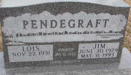 PENDEGRAFT, JIM - Lincoln County, South Dakota | JIM PENDEGRAFT - South Dakota Gravestone Photos