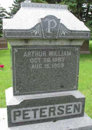PETERSEN, ARTHUR WILLIAM - Lincoln County, South Dakota   ARTHUR WILLIAM PETERSEN - South Dakota Gravestone Photos
