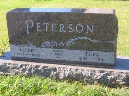 PETERSON, THEA - Lincoln County, South Dakota | THEA PETERSON - South Dakota Gravestone Photos