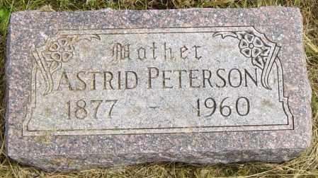 PETERSON, ASTRID - Lincoln County, South Dakota | ASTRID PETERSON - South Dakota Gravestone Photos