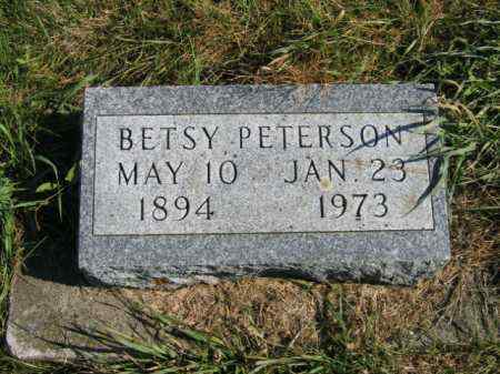 PETERSON, BETSY - Lincoln County, South Dakota | BETSY PETERSON - South Dakota Gravestone Photos