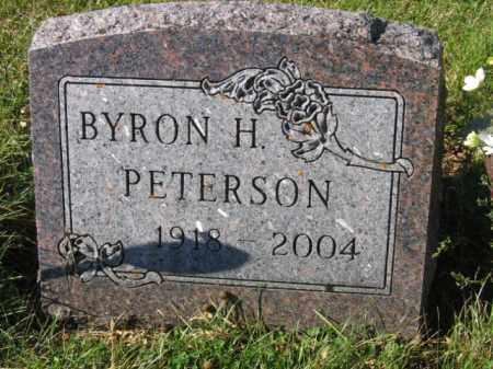 PETERSON, BYRON H - Lincoln County, South Dakota | BYRON H PETERSON - South Dakota Gravestone Photos
