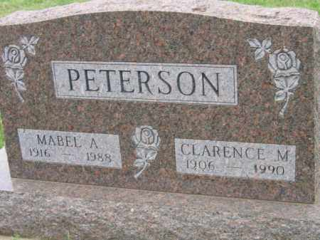 PETERSON, CLARENCE M - Lincoln County, South Dakota | CLARENCE M PETERSON - South Dakota Gravestone Photos