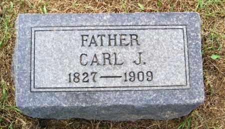 PETERSON, CARL J. - Lincoln County, South Dakota   CARL J. PETERSON - South Dakota Gravestone Photos