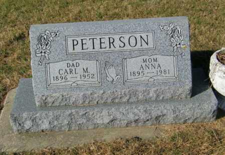 PETERSON, CARL M. - Lincoln County, South Dakota | CARL M. PETERSON - South Dakota Gravestone Photos
