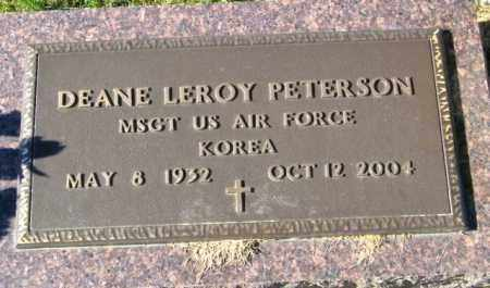 PETERSON, DEANE LEROY - Lincoln County, South Dakota | DEANE LEROY PETERSON - South Dakota Gravestone Photos