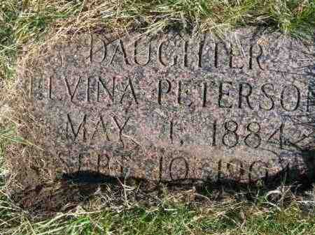 PETERSON, ELVINA - Lincoln County, South Dakota | ELVINA PETERSON - South Dakota Gravestone Photos