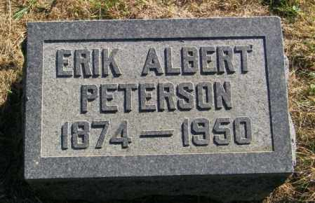 PETERSON, ERIK ALBERT - Lincoln County, South Dakota | ERIK ALBERT PETERSON - South Dakota Gravestone Photos