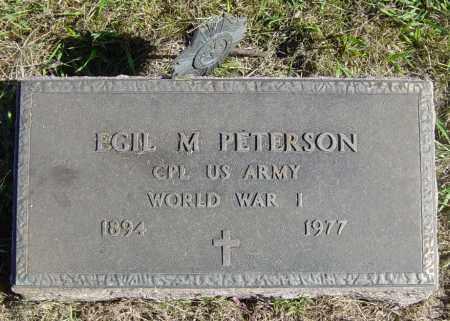 PETERSON, EGIL M - Lincoln County, South Dakota | EGIL M PETERSON - South Dakota Gravestone Photos