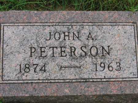 PETERSON, JOHN A - Lincoln County, South Dakota | JOHN A PETERSON - South Dakota Gravestone Photos