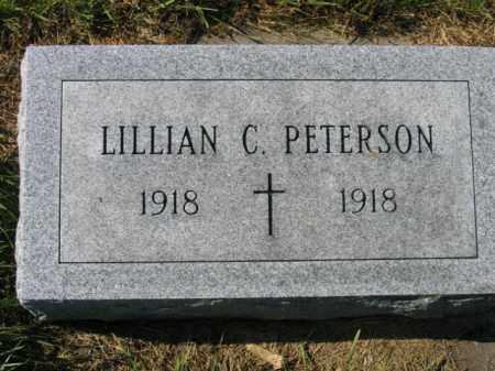 PETERSON, LILLIAN C - Lincoln County, South Dakota   LILLIAN C PETERSON - South Dakota Gravestone Photos