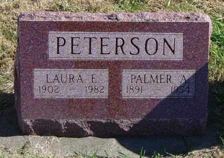 PETERSON, PALMER A - Lincoln County, South Dakota | PALMER A PETERSON - South Dakota Gravestone Photos