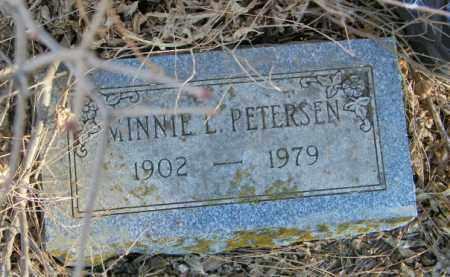 PETERSON, MINNIE L - Lincoln County, South Dakota   MINNIE L PETERSON - South Dakota Gravestone Photos