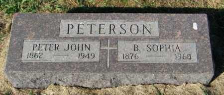 PETERSON, PETER JOHN - Lincoln County, South Dakota | PETER JOHN PETERSON - South Dakota Gravestone Photos