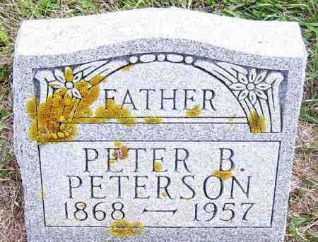 PETERSON, PETER B - Lincoln County, South Dakota | PETER B PETERSON - South Dakota Gravestone Photos