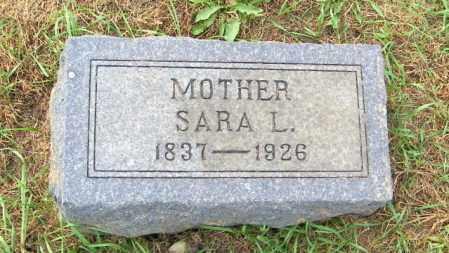 PETERSON, SARA L. - Lincoln County, South Dakota | SARA L. PETERSON - South Dakota Gravestone Photos