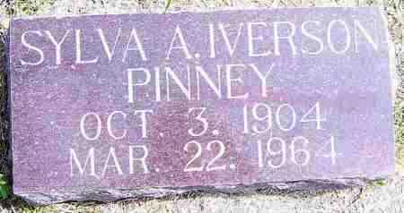 IVERSON PINNEY, SYLVA A - Lincoln County, South Dakota | SYLVA A IVERSON PINNEY - South Dakota Gravestone Photos