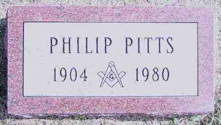 PITTS, PHILIP - Lincoln County, South Dakota | PHILIP PITTS - South Dakota Gravestone Photos