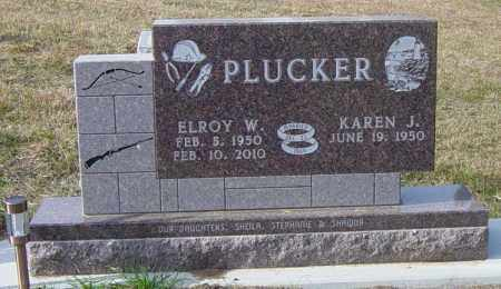 PLUCKER, ELROY W - Lincoln County, South Dakota | ELROY W PLUCKER - South Dakota Gravestone Photos