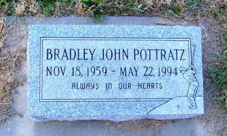 POTTRATZ, BRADLEY JOHN - Lincoln County, South Dakota   BRADLEY JOHN POTTRATZ - South Dakota Gravestone Photos