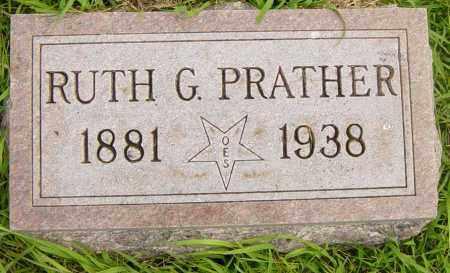 PRATHER, RUTH G - Lincoln County, South Dakota   RUTH G PRATHER - South Dakota Gravestone Photos
