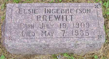 PREWITT, ELSIE - Lincoln County, South Dakota | ELSIE PREWITT - South Dakota Gravestone Photos