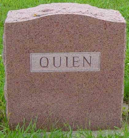 QUIEN FAMILY MEMORIAL, ALFRED - Lincoln County, South Dakota | ALFRED QUIEN FAMILY MEMORIAL - South Dakota Gravestone Photos