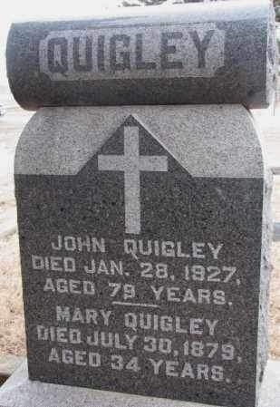 QUIGLEY, JOHN - Lincoln County, South Dakota | JOHN QUIGLEY - South Dakota Gravestone Photos