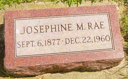 RAE, JOSEPHINE M - Lincoln County, South Dakota | JOSEPHINE M RAE - South Dakota Gravestone Photos