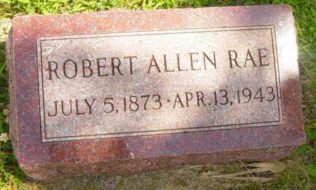 RAE, ROBERT ALLEN - Lincoln County, South Dakota   ROBERT ALLEN RAE - South Dakota Gravestone Photos