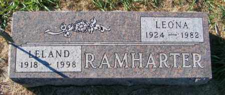 RAMHARTER, LEONA - Lincoln County, South Dakota | LEONA RAMHARTER - South Dakota Gravestone Photos